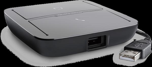 Plantronics MDA220 Smart Switch (USB Umschalter PC / Festnetz)