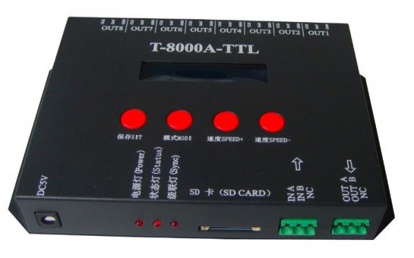 Synergy 21 LED pixel LED Controller T-8000A