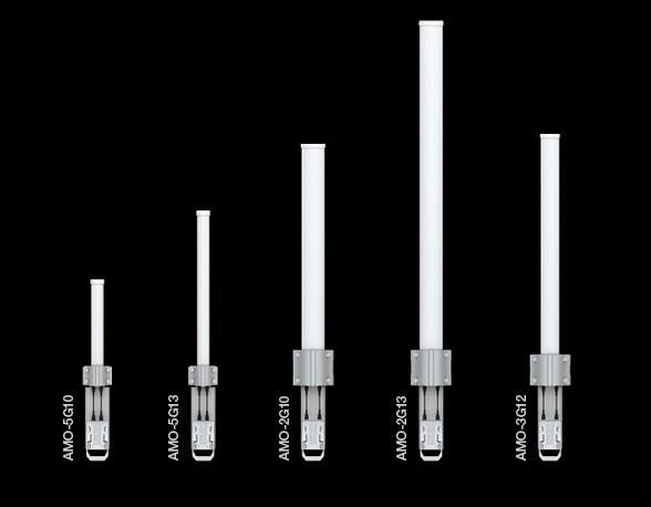 Ubiquiti Dual Omni antenna AirMax MIMO 5GHz, 13dBi, rocket kit