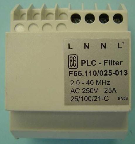 ALLNET Powerline Sperr-Filter 2,0-40 Mhz 25 A