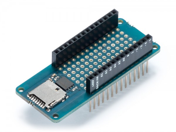 Arduino® Shield MKR MEM (Flash-Speicher & microSD Karte Slot)