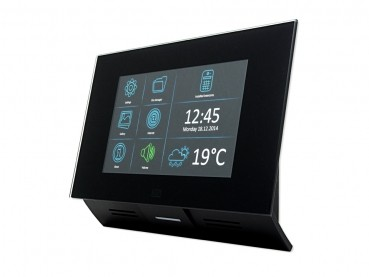2N Indoor Touch PoE für alle EntryCom WIFI *schwarz* NEUE-VERSION