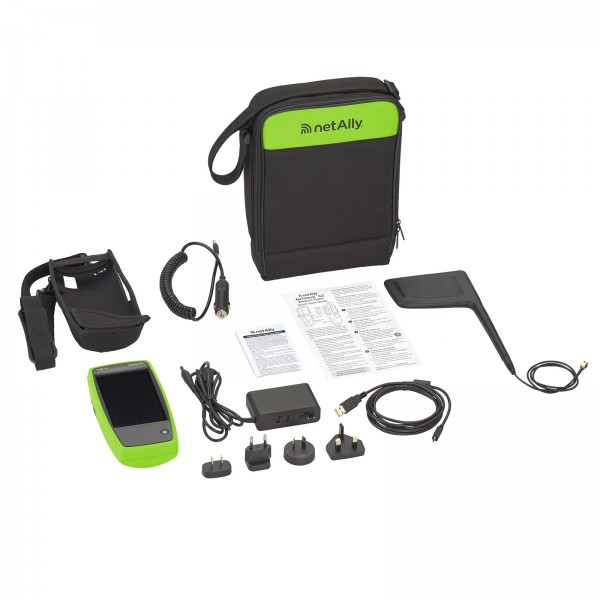 NetAlly AIRCHECK-G2-KIT, AIRCHECK-G2 PLUS EXT-ENT, AUTO CHARGER, HOLSTER