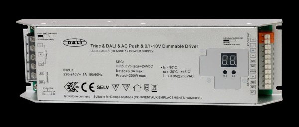 Synergy 21 LED Controller EOS 07 DALI 0-10V und TRIAC Dimmer + Netzteil 24V 200W