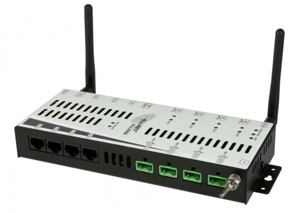 "ALLNET MSR Zentrale ""ALL3500"" inkl. 4 Sensor Ports & WLAN für IP Gebäude Automation"