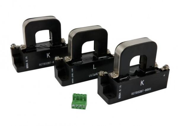 ALLNET MSR Powermeter Zubehör 800 Ampere Induktionsklemmen Set