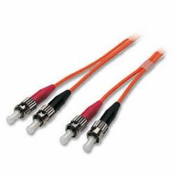 LWL-2-Faser-Patchk. 1.0mtr.ST-ST, 50/125um, OM2