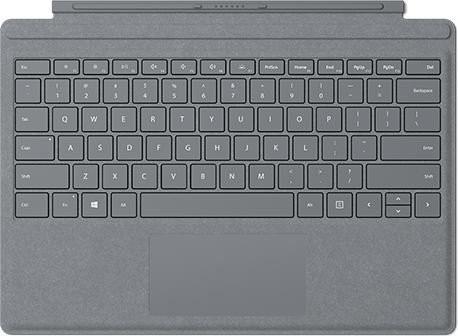 MS Surface Zubehör Go Type Cover Signature *Platinum* (DE/AT)