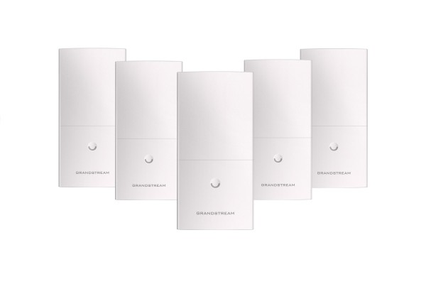 Grandstream GWN7600LR Outdoor Long Range 802.11ac Wave-2 WiFi Access Point 2x2:2 MU-MIMO - 5er Pack