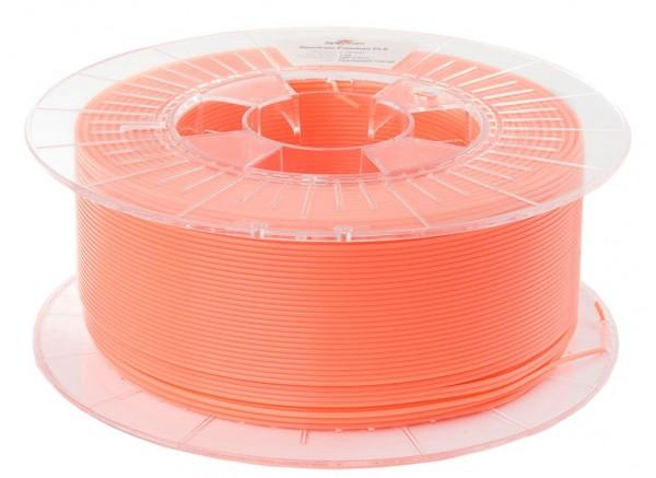 Spectrum 3D Filament / PLA Premium / 1,75mm / Fluorescent Orange / Orange Fluoreszierend / 1kg