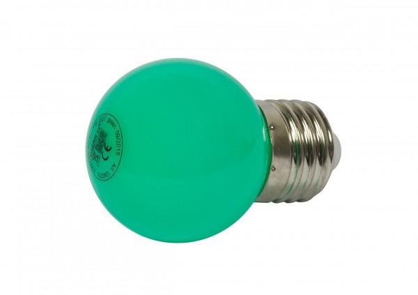 Synergy 21 LED Retrofit E27 Tropfenlampe G45 grün 1 Watt für Lichterkette