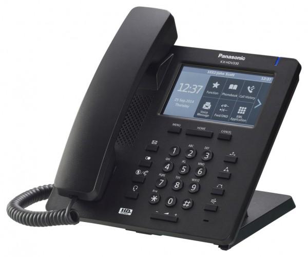 Panasonic KX-HDV330 SIP Terminal (schwarz)