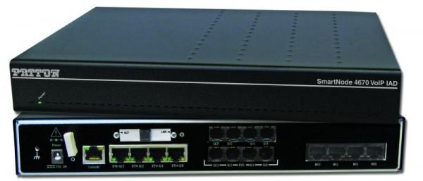 Patton SmartNode 4671 ADSL IAD, 4 BRI, HPC