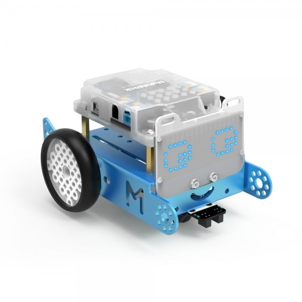 "Makeblock MINT Roboter ""mBot-S"" blau v1.1 (Bluetooth Version Explorer Kit) ab 14 Jahren"