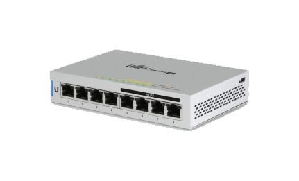 Ubiquiti UniFi Switch 8, 60W, 8 Gigabit RJ45 Ports, 4 PoE Po