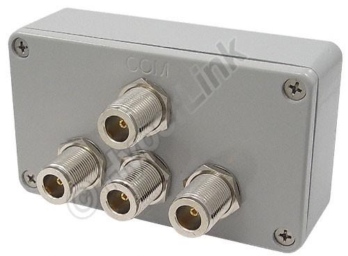 ALLNET Antennen-Splitter 2,4 GHz 3-Wege Signal Combiner