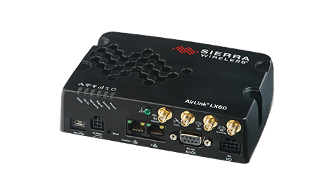 Sierra Wireless LX60 LTE Router WLAN, GNSS, 2x Gigabit LAN Port - RS232 und RS485 M2M Anbindung