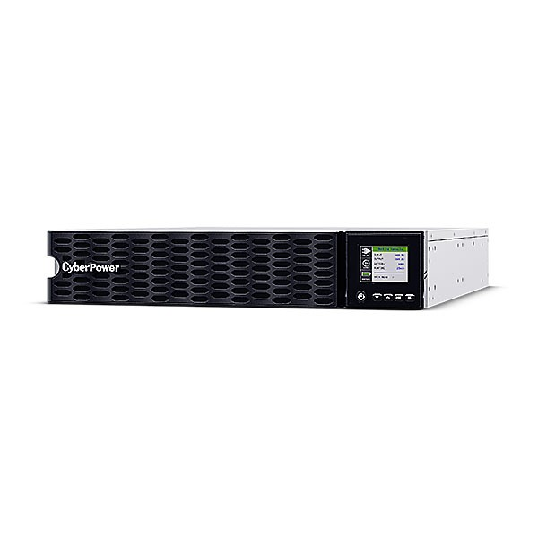 """CyberPower USV, OL Tower/19""""-Serie, 5000VA/5000W, 2HE, On-Line, LCD, USB/RS232, ext. Runtime,"""