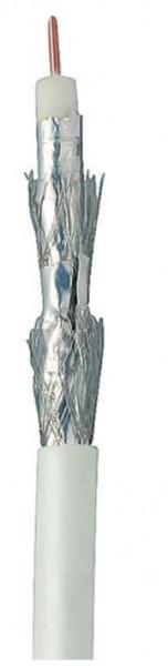 Kabel SAT, Koaxial geschirmt 4-fach, DIGITAL CU, 100m, Ring,