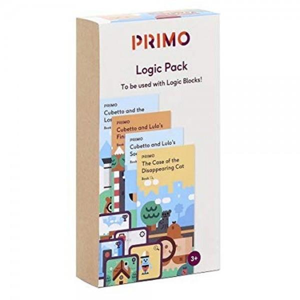 """Cubetto MINT Coding Abenteuer Paket """"Logik"""" ab 3 Jahren (Geeignet für Montessori) - Internationale Version"""