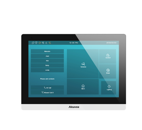 Akuvox TFE zbh. C317S SIP Indoor unit (Android Version)