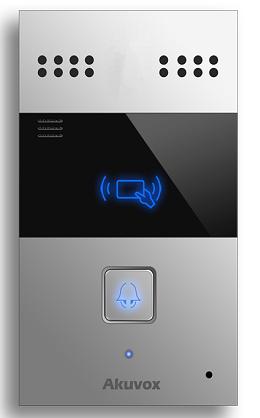 Akuvox TFE R23C IP Door SIP Intercom with one Button (Audio& Card reader)