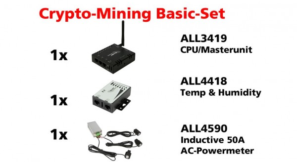 ALLNET MSR ALL3419 Mining-Bitmain-Surveillance-Basic-Kit