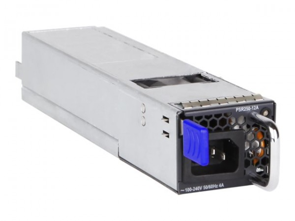 HP Switch 1000Mbit, 5710 zbh. 250W BF AC PSU, Back-to-Front