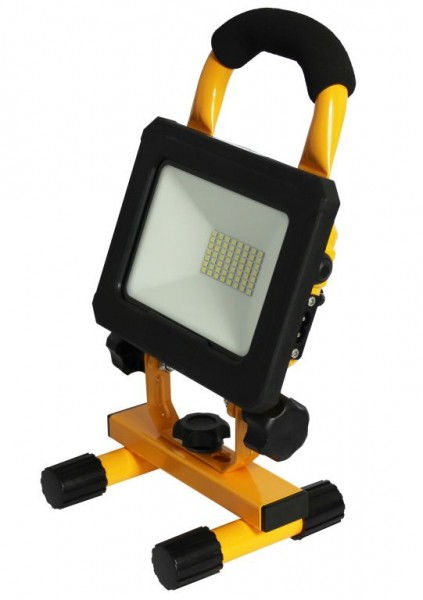 Synergy 21 LED AKKU Baustrahler 20W gelb/cw Makita kompatibel