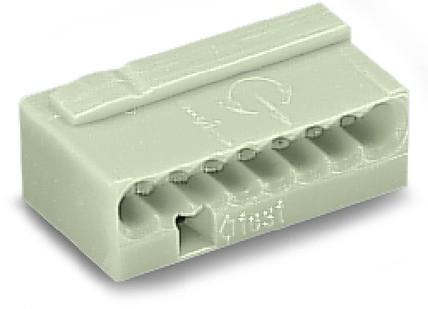 Wago Serie 243- 8-Leiter-Micro-Klemme (50 Stück) lichtgrau