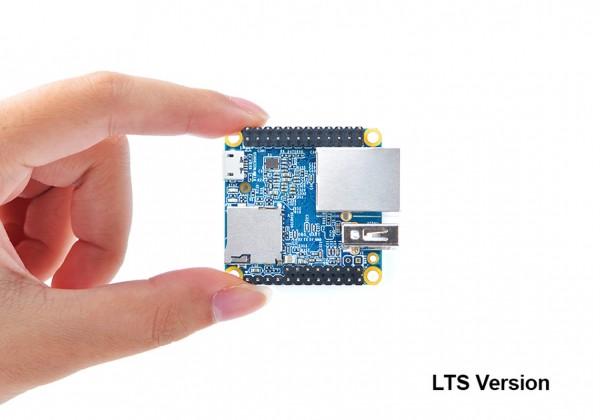 FriendlyELEC NanoPi Neo LTS - 512MB QuadCore Allwinner H3 Quadcore A7 1,2ghz mit Stiftsockelleiste montiert
