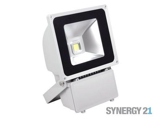 Synergy 21 LED Outdoor Objektstrahler 80W graues Gehäuse - kaltweiß V2