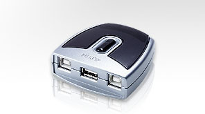 Aten USB-Switch 2-fach,