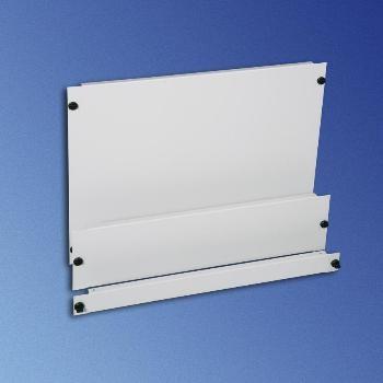 Knürr Blindplatte Quick-Fix, 3HE, Lichtgrau, (2-Stück)