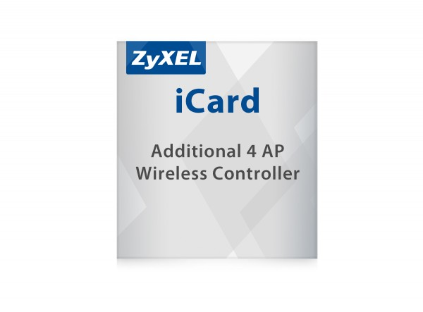 Zyxel LIC-EAP, E-iCard 4 AP license for USG and VPN Firewall (all USG/ZyWALL with AP Controller functions)