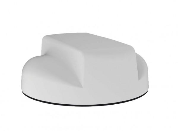 Sierra Wireless 6in1 Dome Antenna - 2xLTE, GNSS, 3xWiFi, 2.4/5GHz, Bolt Mount, 5m, White