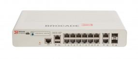 Brocade ICX 7150 Compact Switch 12x 10/100/1000 PoE+ ports, 2x 1G RJ45 uplink-ports, 2x 10G SFP, 124W PoE