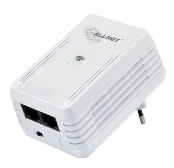 ALLNET Schweiz Powerline 500Mbit Bridge RJ45 + 300Mbit WiFi AP ALL1682511v2
