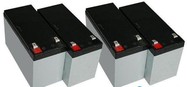 Akku OEM RBC43-MM-BAT, für SUA2200RMI2U/3000RMI2U, SMT2200RMI2U/SMT3000RMI2U, SUM48RMXLBP2U, nur Akkus,