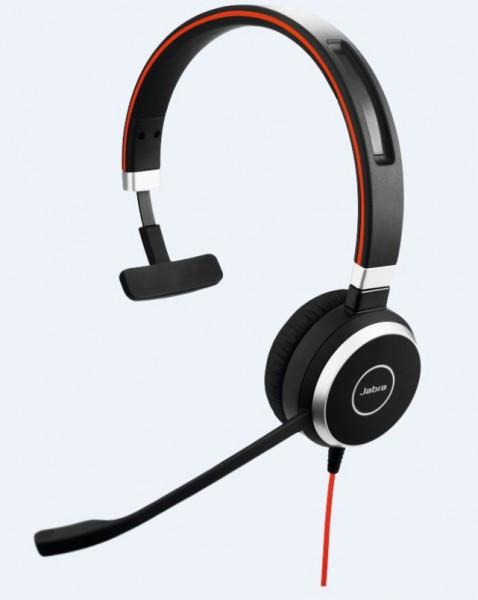 Jabra Evolve 40 Headset Mono 3,5mm / USB MS