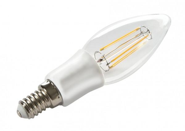 Synergy 21 LED Retrofit E14 Kerze 4W ww filament dimmbar