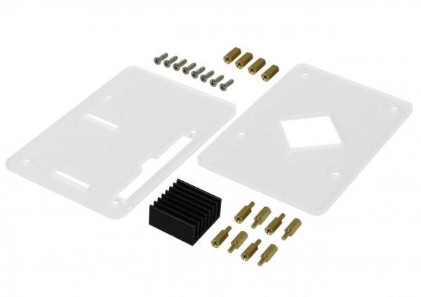 Rock Pi 4 zbh. Simple Acrylic Case