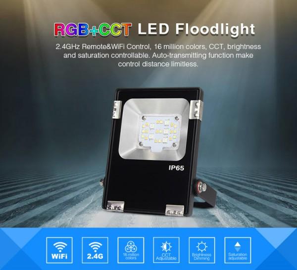 Synergy 21 LED Flächenstrahler 10W Funk und WLAN IP65 230V *MiLight*