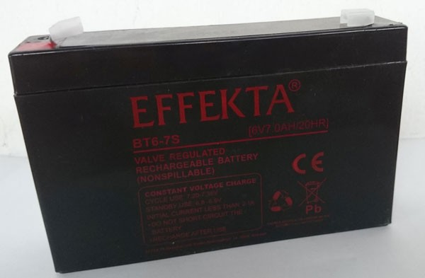 ALLNET USV Ersatzbatterie, 6V- 7AH,