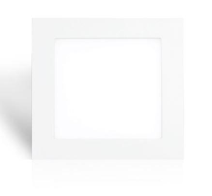 Synergy 21 LED light panel square 9W neutralweiß V4 weiß