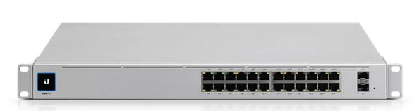 Ubiquiti Unifi Switch / 24 Port / 120W / POE+ / 2 SFP / GEN2 / USW-24-POE-EU