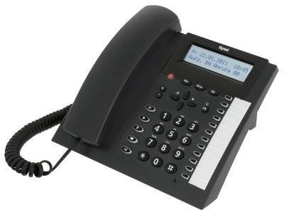 tiptel 2030 Systemtelefon anthrazit