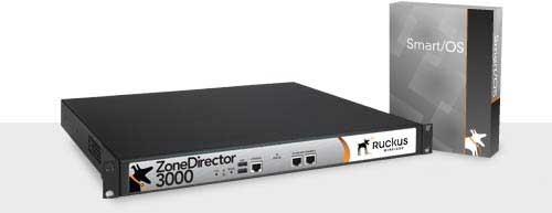 RUCKUS ZoneDirector 3025 WLAN Controller für max. 25 APs