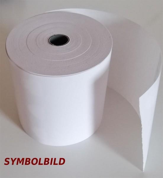 Kasse Bonrolle Thermo 80 Meter lang, 80 mm breit, 55 g/qm, BPA frei, VE = 40 Rl.