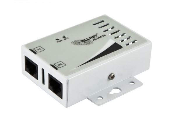 ALLNET MSR Sensor ALL4420 / Sensor für Luftfeuchte und Temperatur im Gehäuse *white*